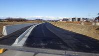 道路改良工事完了しました。