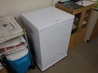 社内に大型冷凍庫を設置しました!