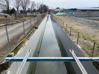 最後の路線 水路補修工事完了!