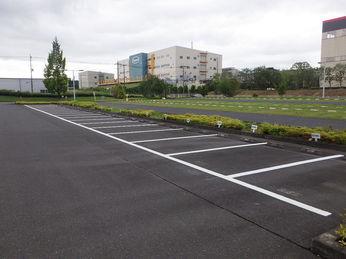 駐車場区画線修繕工事 After